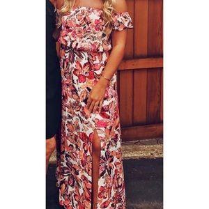 Lulus Floral Maxi Dress